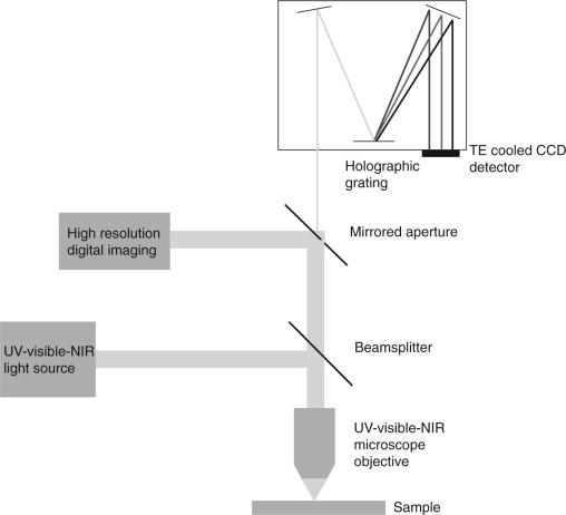 Microspectrophotometry for textile fiber color measurement