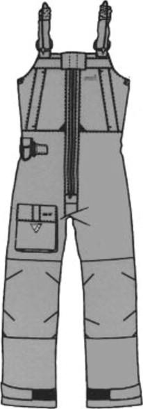 Creative Knitwear Iowa State University Camo Long Leg Overall