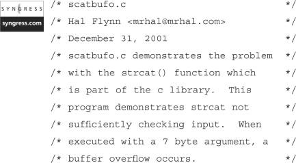 Buffer Overflow - an overview | ScienceDirect Topics