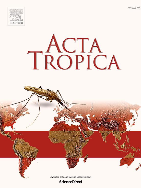 Cover image Acta Tropica