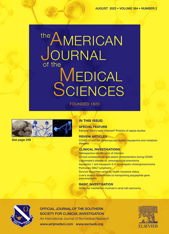 The American Journal of the Medical Sciences | ScienceDirect com