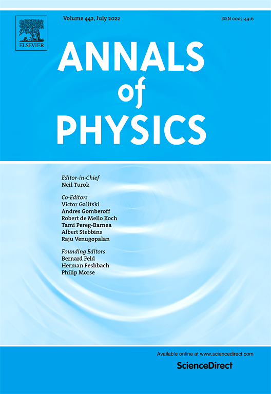 Annals of Physics | Vol 281, Issues 1–2, Pages 1-1051 (10 April 2000