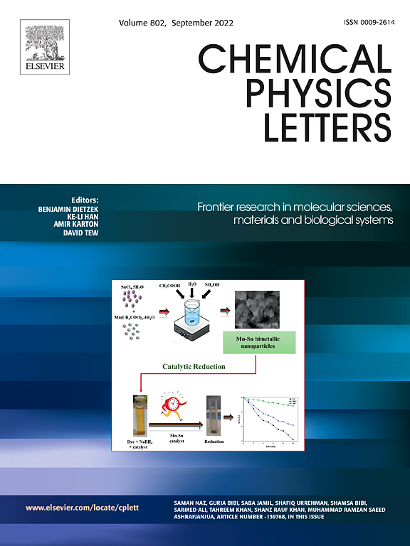 Chemical Physics Letters | ScienceDirect.com