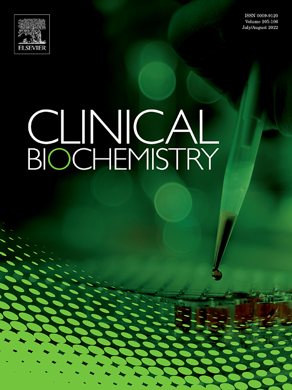 clinical biochemistry com cover image clinical biochemistry