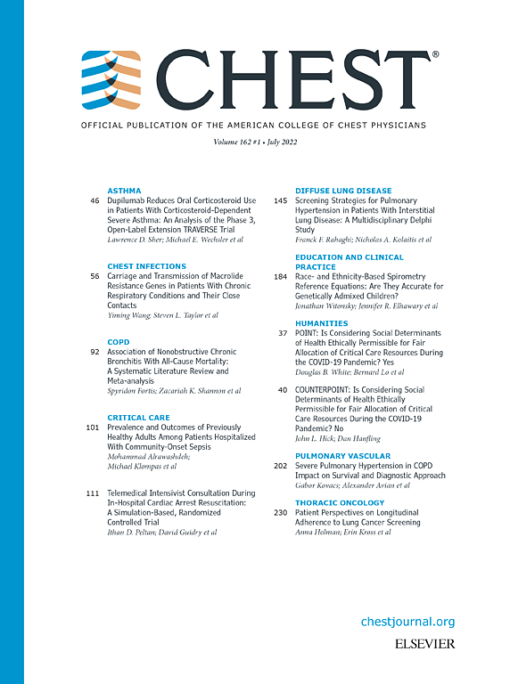 Chest Journal Elsevier