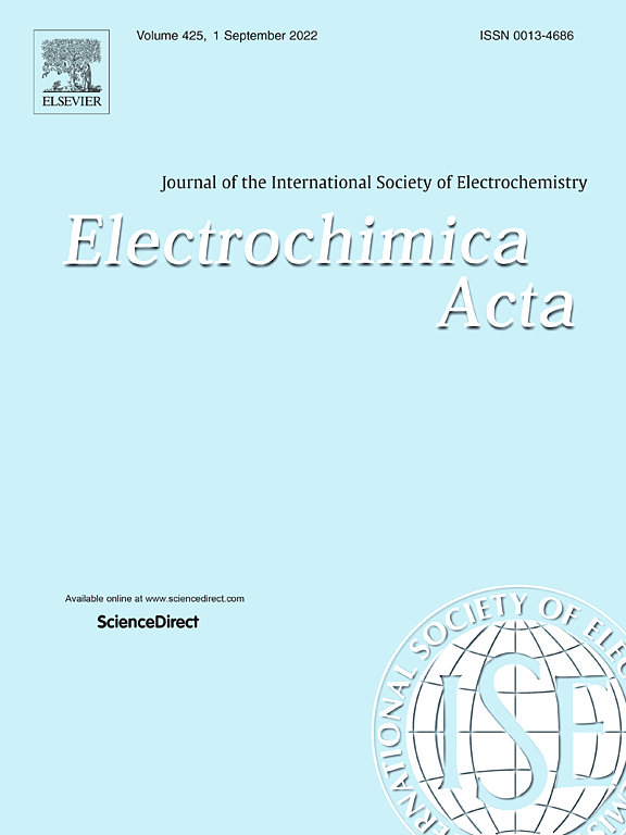 Electrochimica Acta   Journal   ScienceDirect com