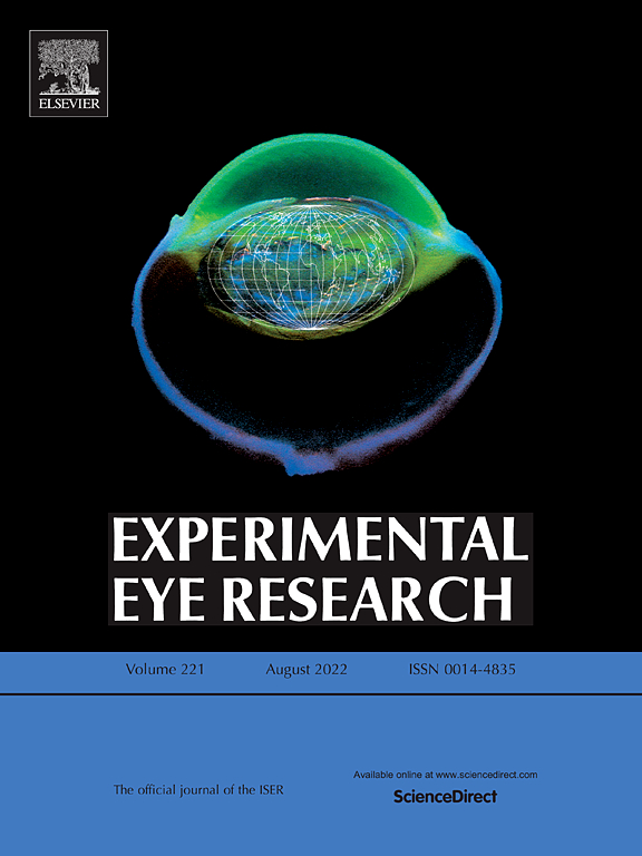 Cover image Experimental Eye Research