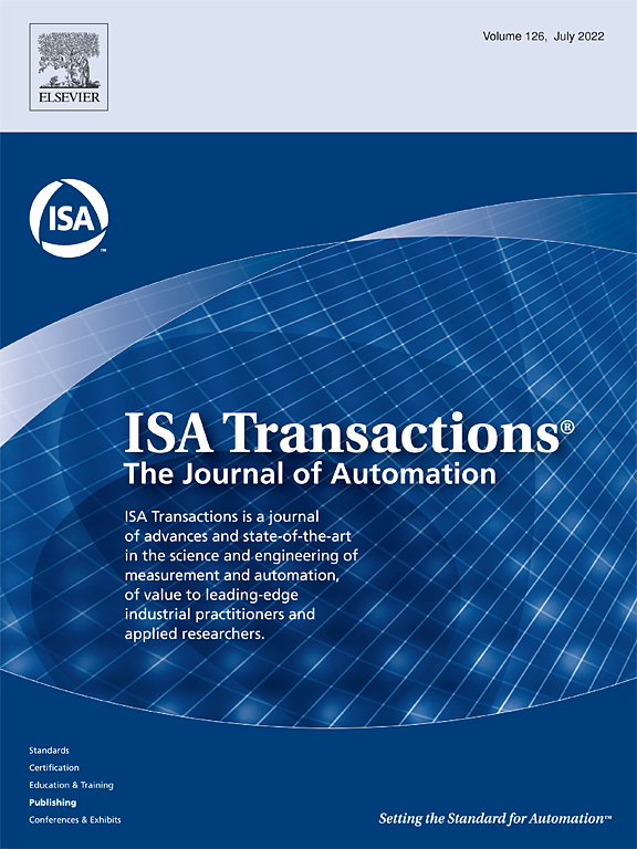 ISA Transactions | Journal | ScienceDirect com