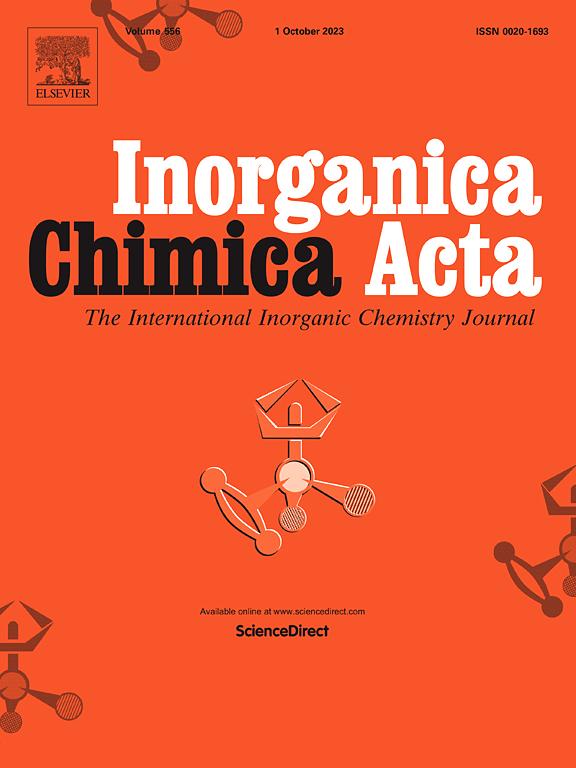 Cover image Inorganica Chimica Acta