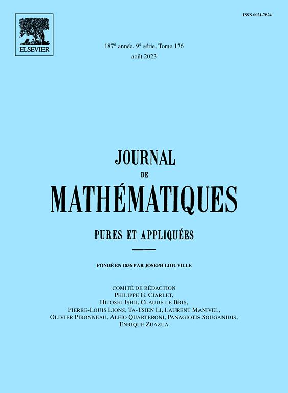 JOURNAL DE MATHEMATIQUES PURES ET APPLIQUEES