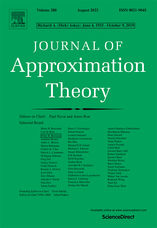 Journal of Approximation Theory | Special Issue: OPSFA 2011, Madrid