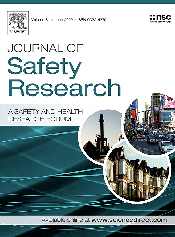 Journal of Safety Research | ScienceDirect com