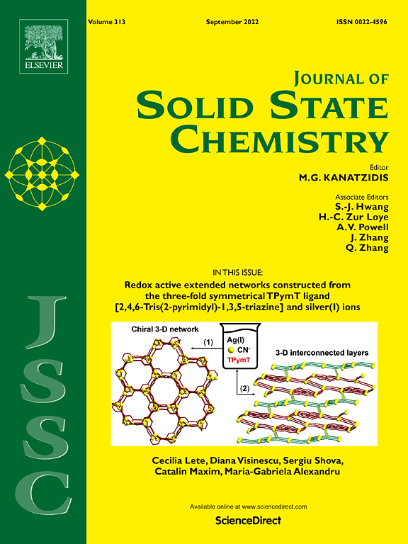 Journal of Solid State Chemistry | ScienceDirect com