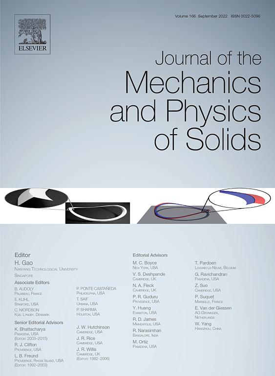 Journal of the Mechanics and Physics of Solids