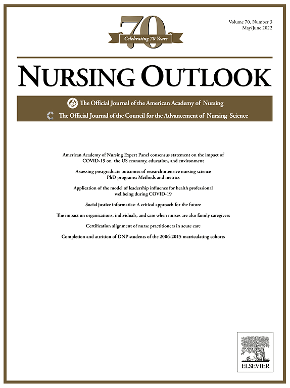 Nursing Outlook | Journal | ScienceDirect com