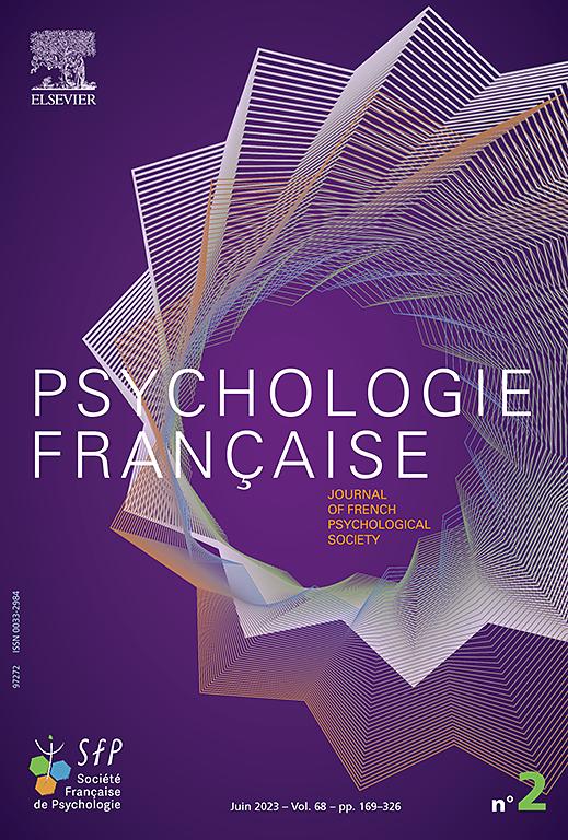 PSYCHOLOGIE FRANCAISE