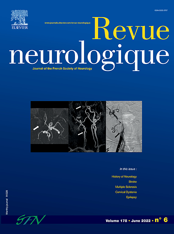 Image result for Rev Neurol journal