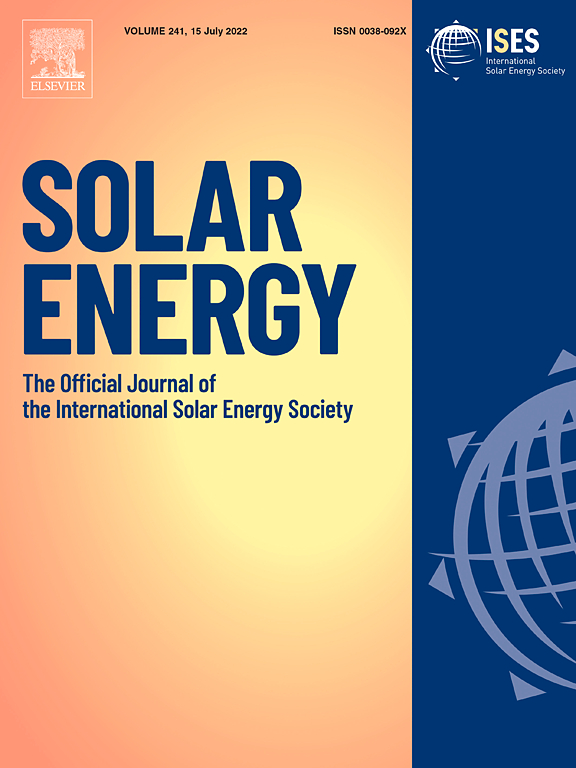 Solar Energy | Journal | ScienceDirect com