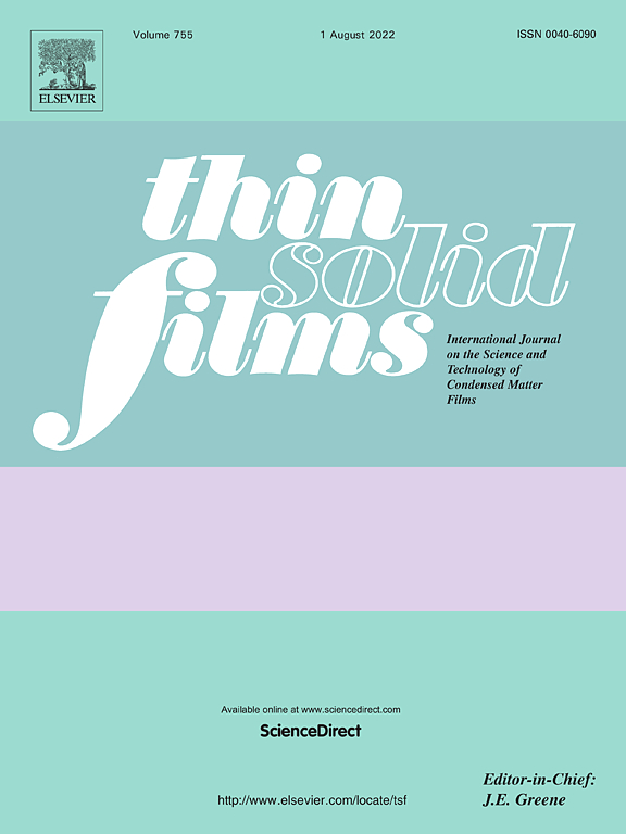 Thin Solid Films Journal Elsevier