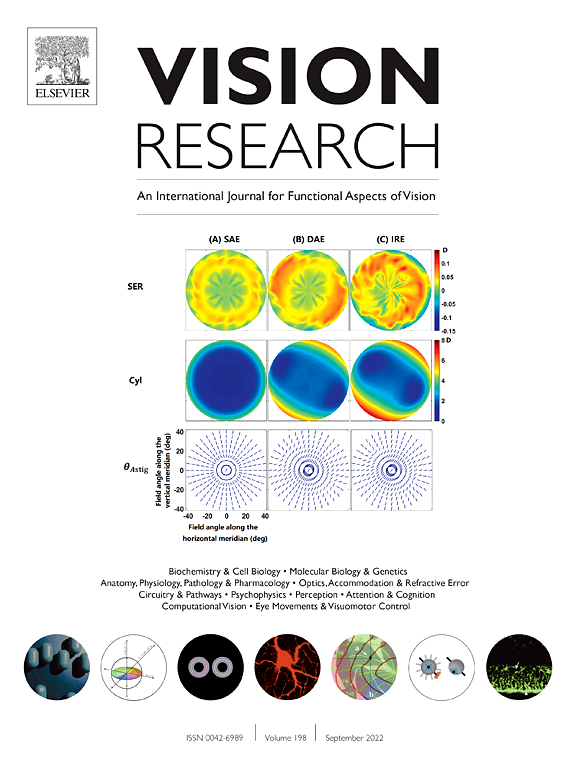 Vision Research Sciencedirect