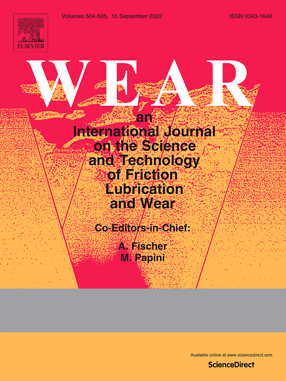 Wear Journal Elsevier