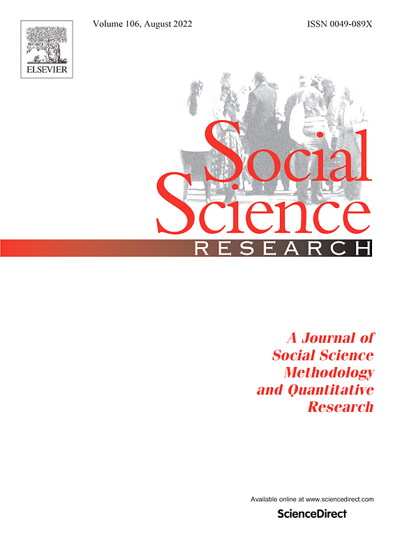 Social Science Research | Journal | ScienceDirect com