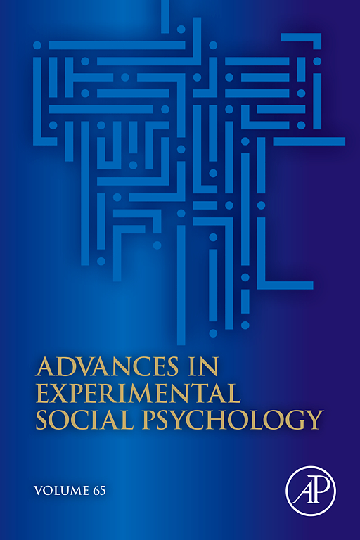 Advances In Experimental Social Psychology Sciencedirectcom