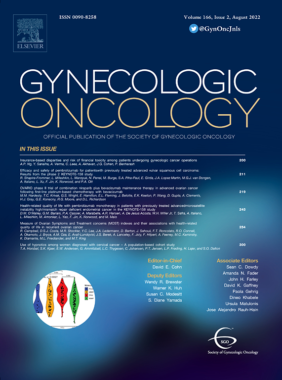 Gynecologic Oncology | Journal | ScienceDirect com