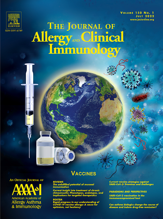 Journal of Allergy and Clinical Immunology | ScienceDirect com