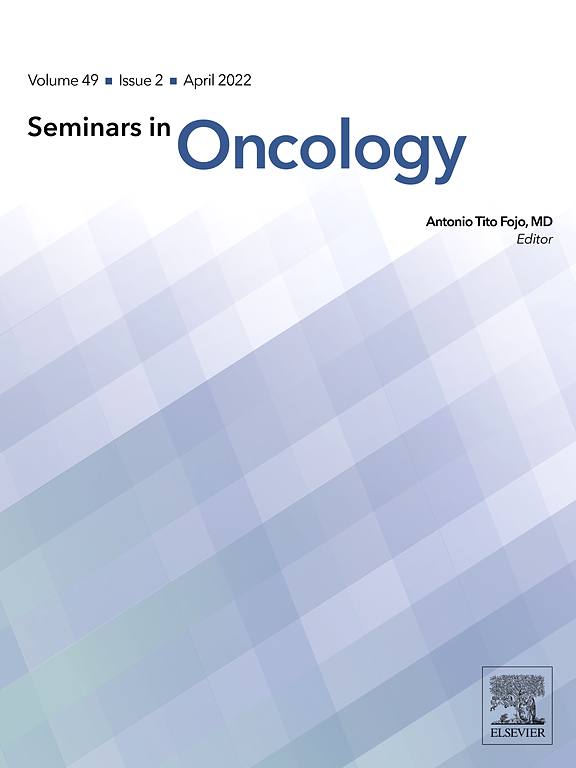 Seminars in Oncology | Journal | ScienceDirect com
