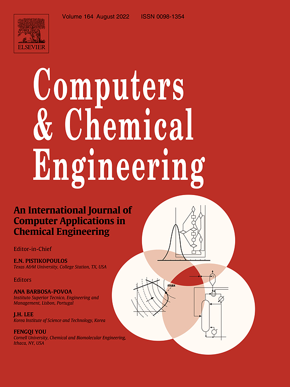 Computers Chemical Engineering Journal Elsevier