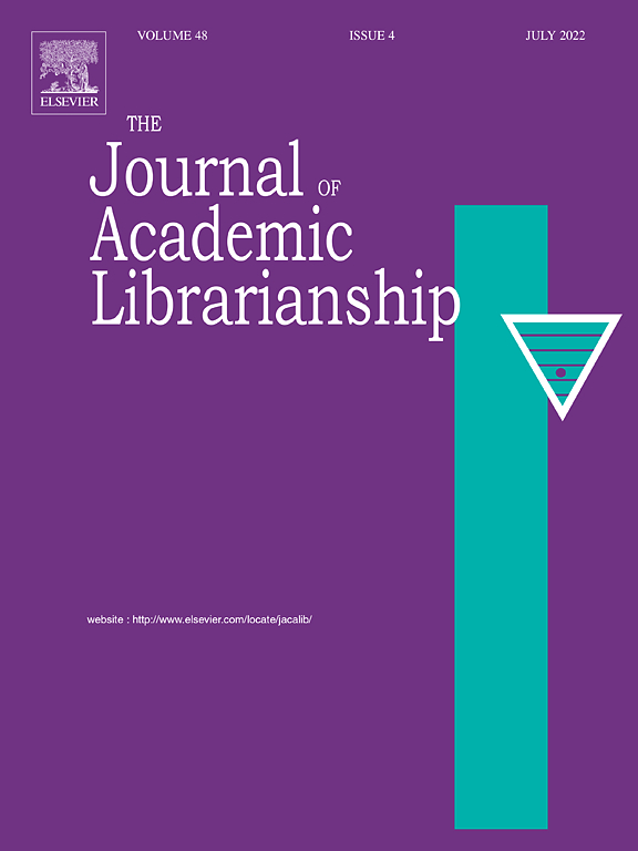 Image result for journal of academic librarianship""