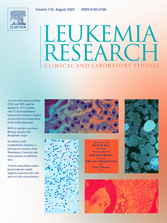 thesis statement for leukemia research paper