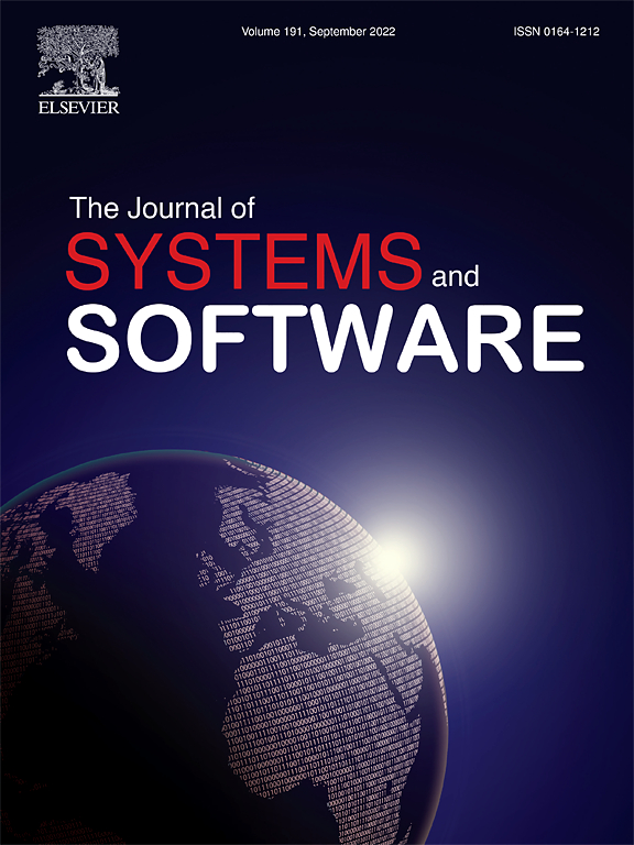 journal of systems and software sciencedirect com
