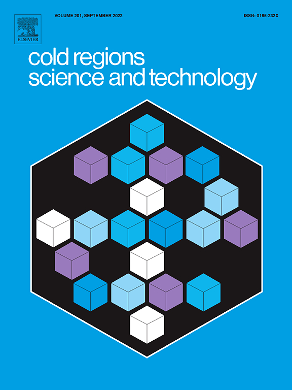 cold regions science and technology sciencedirect com