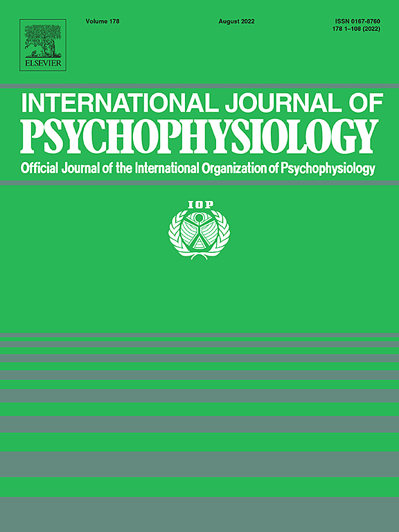 International Journal of Psychophysiology | ScienceDirect com