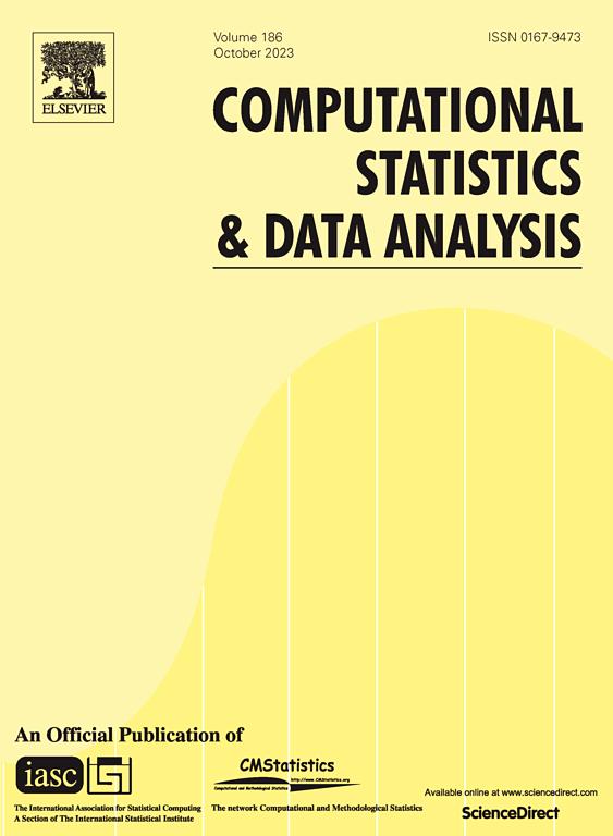 Cover image Computational Statistics & Data Analysis