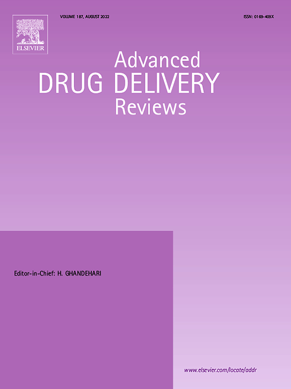 Cover image Advanced Drug Delivery Reviews