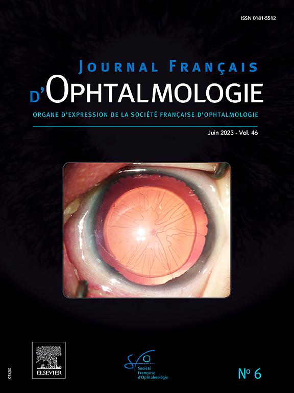 Journal Français d'Ophtalmologie | ScienceDirect.com