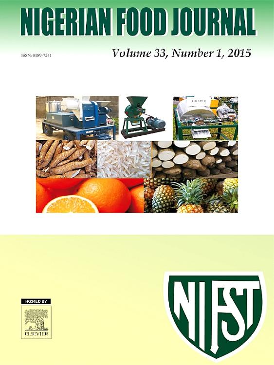 nigerian food journal sciencedirect com