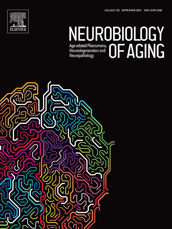 Картинки по запросу journal Neurobiology of Aging