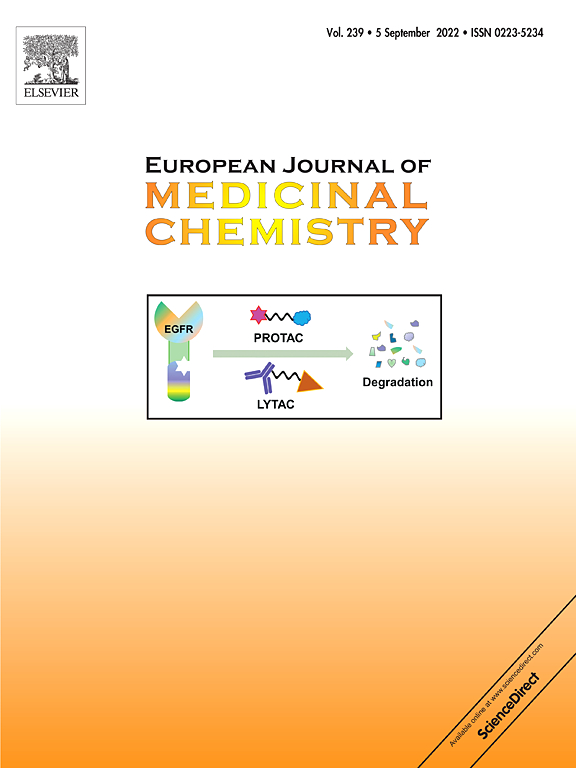 European Journal of Medicinal Chemistry | ScienceDirect com