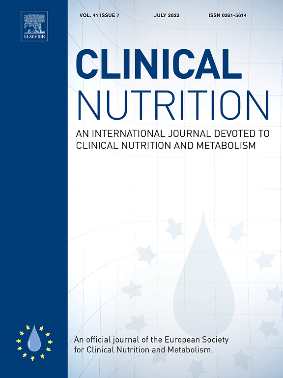 Clinical Nutrition Cover