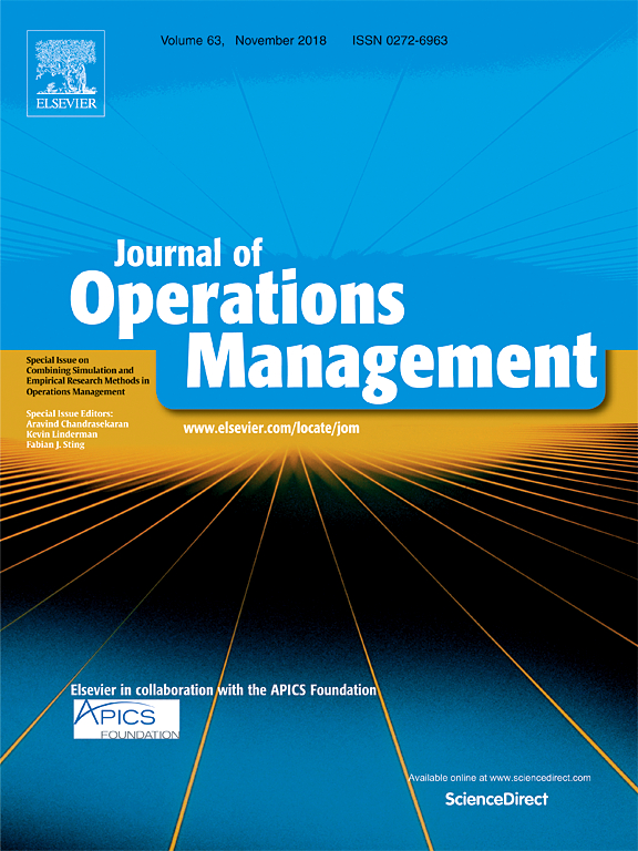 Journal Of Operations Management Sciencedirect Com