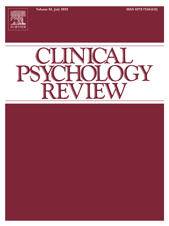 Clinical Psychology Review Journal Elsevier