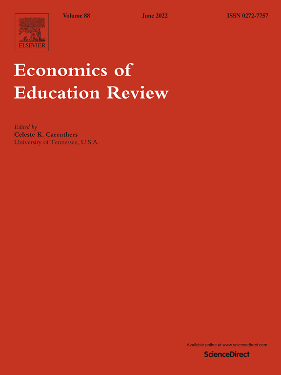 Economics of Education Review | Journal | ScienceDirect com