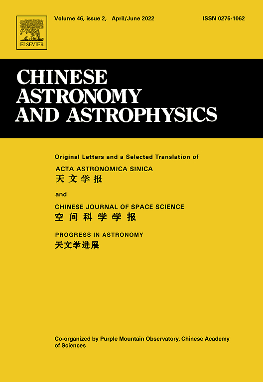 Chinese Astronomy and Astrophysics | ScienceDirect.com
