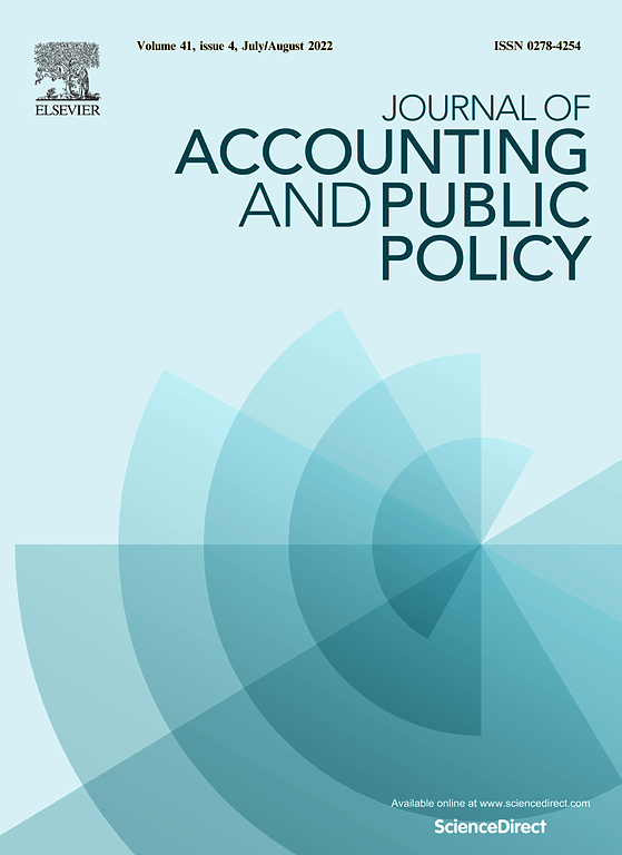 Journal of Accounting and Public Policy | ScienceDirect.com