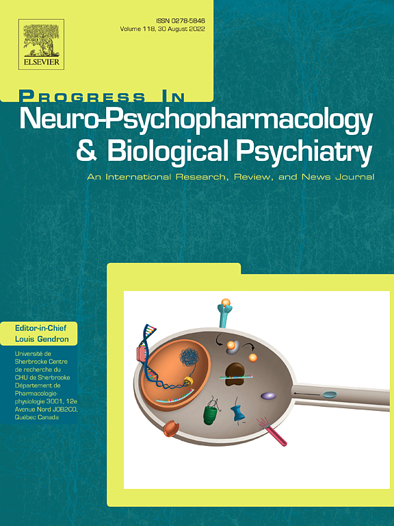 Progress in Neuro-Psychopharmacology and Biological