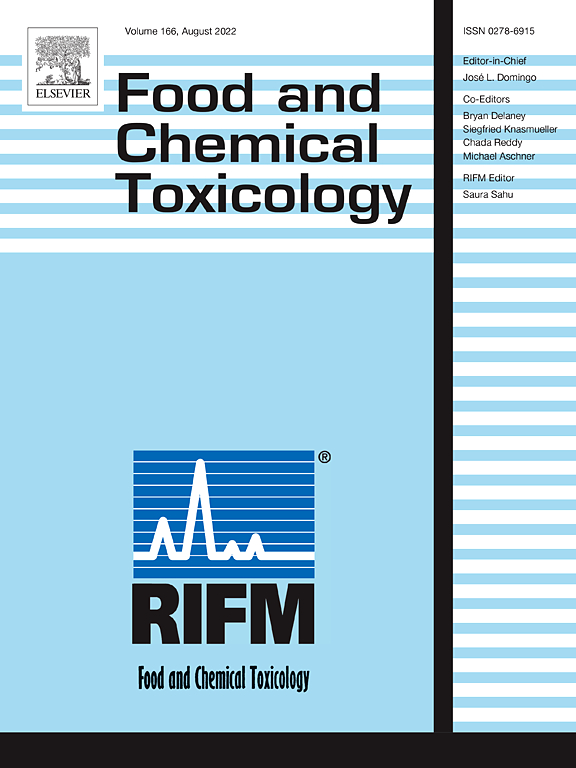 Food And Chemical Toxicology Sciencedirectcom